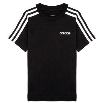 textil Niño Camisetas manga corta adidas Performance YB E 3S TEE Negro