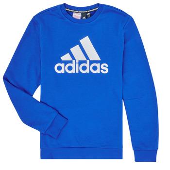 textil Niño Sudaderas adidas Performance JB MH CREW Azul