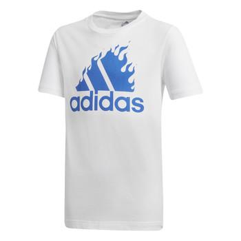 textil Niño Camisetas manga corta adidas Performance JB BOS GRAPH Blanco