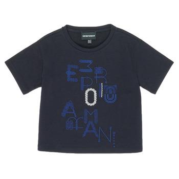 textil Niña Camisetas manga corta Emporio Armani 6H3T7R-2J4CZ-0926 Marino