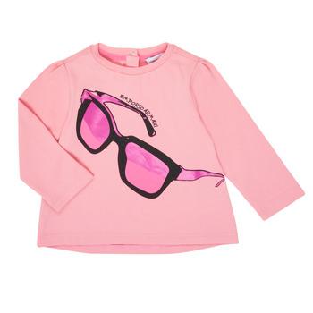 textil Niña Camisetas manga larga Emporio Armani 6HET02-3J2IZ-0315 Rosa