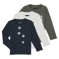 textil Niño Camisetas manga larga Emporio Armani 6H4D01-4J09Z-0564 Multicolor