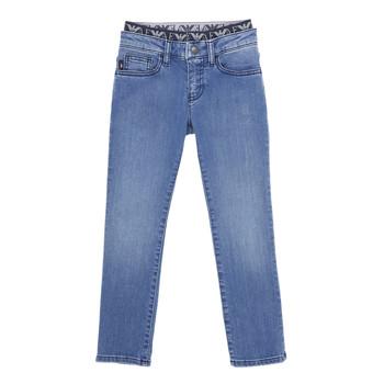 textil Niño Vaqueros slim Emporio Armani 6H4J17-4D29Z-0942 Azul