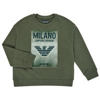 textil Niño Sudaderas Emporio Armani 6H4MM1-4J3BZ-0564 Kaki