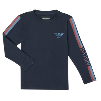 textil Niño Camisetas manga larga Emporio Armani 6H4TJD-1J00Z-0920 Marino