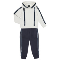 textil Niño Conjuntos chándal Emporio Armani 6H4V02-1JDSZ-0101 Marino / Blanco