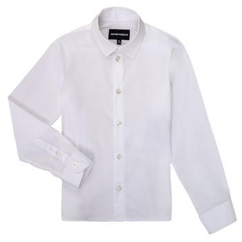 textil Niño Camisas manga larga Emporio Armani 8N4CJ0-1N06Z-0100 Blanco