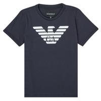 textil Niño Camisetas manga corta Emporio Armani 8N4T99-1JNQZ-0939 Marino