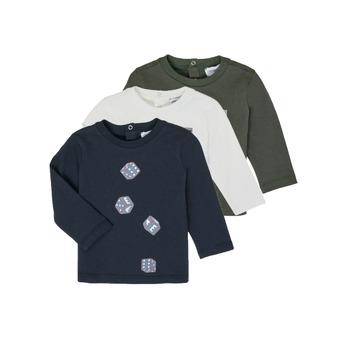 textil Niño Camisetas manga larga Emporio Armani 6HHD21-4J09Z-0564 Multicolor