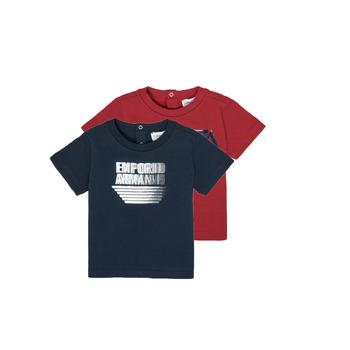 textil Niño Camisetas manga corta Emporio Armani 6HHD22-4J09Z-0353 Multicolor