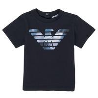 textil Niño Camisetas manga corta Emporio Armani 6HHTA9-1JDXZ-0920 Marino