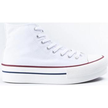 Zapatos Hombre Zapatillas altas Victoria Botas  061101 Blanco Blanco