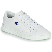 Zapatos Zapatillas bajas Champion COURT CLUB PATCH Blanco / Beige