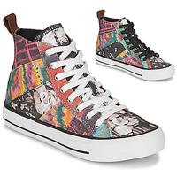 Zapatos Mujer Zapatillas altas Desigual BETA_HERITAGE Multicolor