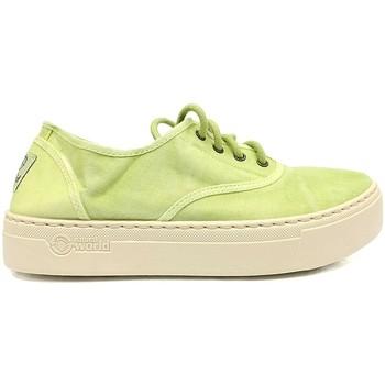 Zapatos Mujer Deportivas Moda Natural World Basket Platform Verte 641-6112E Verde