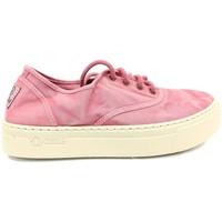 Zapatos Mujer Zapatillas bajas Natural World Basket Platform Rosa 603-6112E Rosa