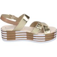 Zapatos Mujer Sandalias Tredy's BN749 platino