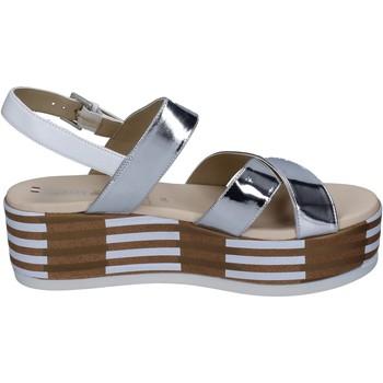 Zapatos Mujer Sandalias Tredy's BN750 plata