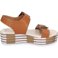 Zapatos Mujer Sandalias Tredy's BN757 marrón
