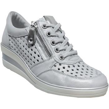 Zapatos Mujer Derbie Remonte Dorndorf R7214 Cuero gris metal