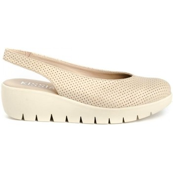 Zapatos Mujer Zuecos (Clogs) Kissia 304-P Beige