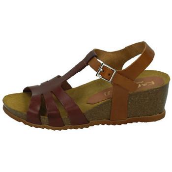 Zapatos Mujer Sandalias Karralli Sandalia caoba Marrón