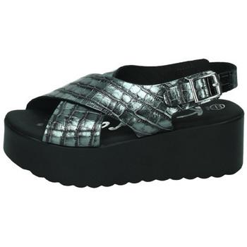 Zapatos Mujer Sandalias Karralli Sandalia breda plomo Gris