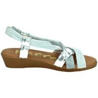 Zapatos Mujer Sandalias Karralli blanco Blanco