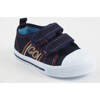 Zapatos Niño Zapatillas bajas Katini Lona niño  17818 kfy azul Azul