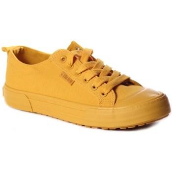 Zapatos Mujer Zapatillas bajas Big Star FF274A086 Amarillos