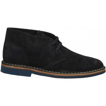 Zapatos Hombre Botas de caña baja Frau CASTORO blu