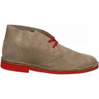 Zapatos Hombre Botas de caña baja Frau CASTORO sughero-fire