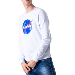 textil Hombre sudaderas Nasa NS07U Bianco