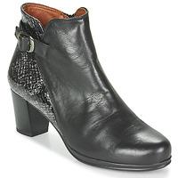 Zapatos Mujer Botines Karston TUCKO Negro