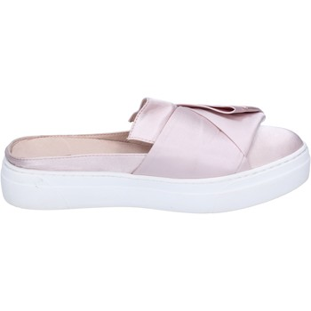 Zapatos Mujer Sandalias Uma Parker sandalias satén rosa