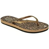 Zapatos Mujer Chanclas Kelara K02027 Oro