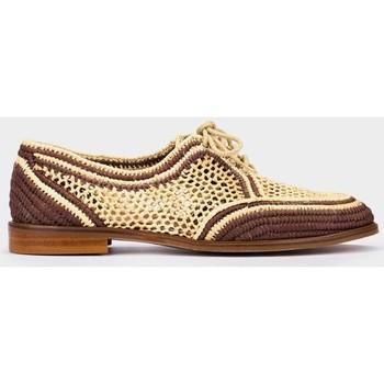 Zapatos Mujer Derbie Pedro Miralles Granada Marron