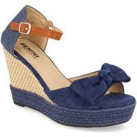 Zapatos Mujer Sandalias Benini A9054 Azul