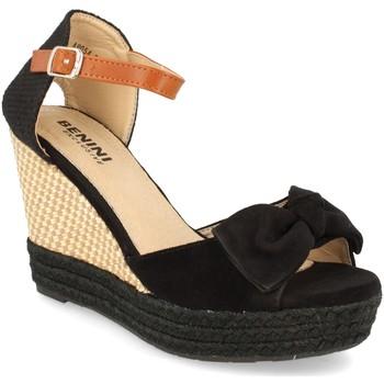 Zapatos Mujer Sandalias Benini A9054 Negro