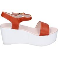 Zapatos Mujer Sandalias Solo Soprani BN770 naranja