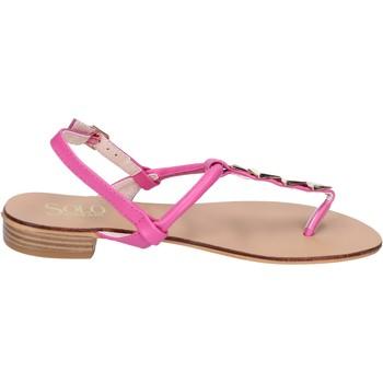 Zapatos Mujer Sandalias Solo Soprani BN775 rosa