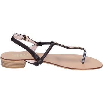 Zapatos Mujer Sandalias Solo Soprani BN776 marrón