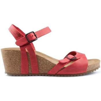 Zapatos Mujer Sandalias Interbios W ROJO