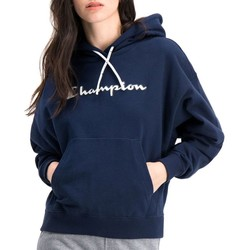 textil Mujer Sudaderas Champion Hooded Azul marino
