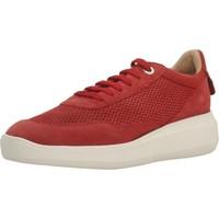 Zapatos Mujer Deportivas Moda Geox D RUBIDIA E Rojo