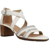 Zapatos Mujer Sandalias Geox D MARYKARMEN M.S. E Blanco