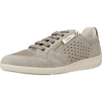 Zapatos Mujer Deportivas Moda Geox D MYRIA A Gris