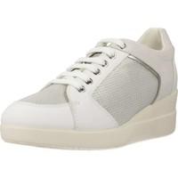 Zapatos Mujer Zapatillas bajas Geox D STARDUST B Blanco