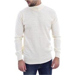 textil Hombre Jerséis Goldenim Paris Jersey & Cardigans 1037 - Hombres blanco