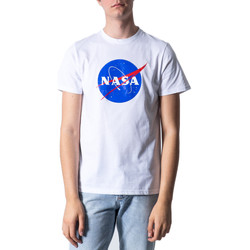 textil Hombre Camisetas manga corta Nasa NS01U Bianco